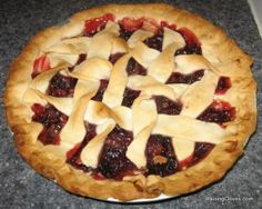 cranberry pie, thanksgiving, recipe