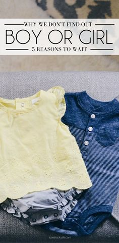 why we never find out the sex of our baby. reasons to wait to find out if you're having a boy or girl Babies and Kids {spon} Pregnancy Labor, Pregnancy Wardrobe, Pregnancy Health, Cute Babies, Baby Kids, Mom Advice, Parenting Advice, Prenatal Workout, Breastfeeding And Pumping