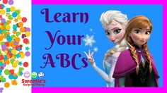 Our Frozen Friends Anna and Elsa are here to help us learn our ABCs. Lets learn the alphabet together! Sweetie's videos are designed for toddlers and prescho. Teaching Toddlers Abc, Toddler Activities, Anna Frozen, Learning The Alphabet, Abcs, Pre School, Elsa, Fun, Ana Frozen