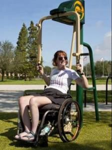 Fitness Zone Suitable for Individuals with Disabilities A brand new fitness zone in Kendall Indian Hammocks Park suitable for individuals with disabilities. This will give these individuals a greater chance to live healthy lives and promote health and wellness for everyone.