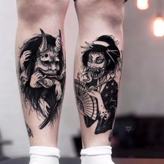 Browse best manga tattoos for men & women. Find inspiration for your next tattoo & book an artist Black Tattoos, Body Art Tattoos, Tattoo Drawings, Sleeve Tattoos, Small Tattoos, Monster Tattoo, Tattoo Mascara, Hanya Tattoo, Schrift Tattoos
