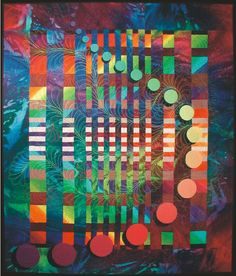 Fibonacci Series #4: © 2001, Quilt Art Record by Caryl Bryer Fallert