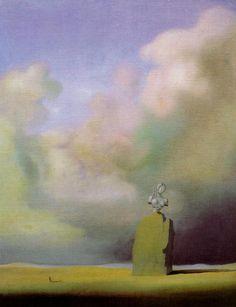 The Hour of the Crackled Visage, 1934 Salvador Dali