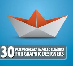 I'm sure graphic designers always in need of free vector graphics, vector art, vector elements and vector images for illustrations.    30 Free Vector Art, Images and Vector Elements For Graphic Designers