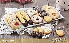 Biscotti di frolla montata da tè ricetta