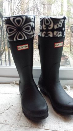 Hunters Rain boots and Rain on Pinterest