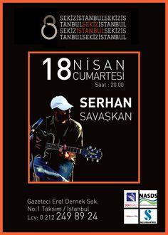 18 Nisan Cumartesi akşamı Cafe 8 İstanbuldayız.  Dalgıçlar buluşuyor etkinliğimize tüm sualtı severleri bekleriz.  Etkinliğe katılım ve ikramlar bedelsizdir.