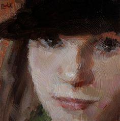 "Daily Paintworks - ""Face Me"" - Original Fine Art for Sale - © Chantel Barber"