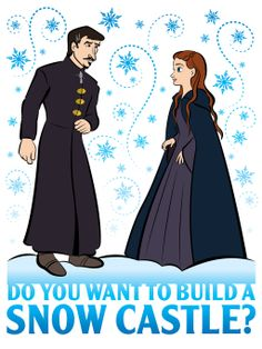 Do You Want To Build a Snow Castle by Rewind-Me.deviantart.com on @deviantART