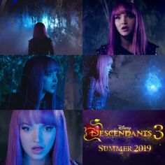 """""""You didn't think that was the end of the story, did you?"""" Descendants Mal And Ben, Descendants Characters, Disney Descendants 3, Disney Channel Movies, Isle Of The Lost, Cheyenne Jackson, China Anne Mcclain, Thomas Doherty, My Little Pony Twilight"""