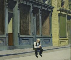 Edward Hopper: Sonntag, 1926, The Phillips Collection, Washington D. C.