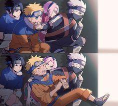Team 7, Kakashi Hatake, Naruto Shippuden Anime, Boruto, Sakura Haruno, Location History, Fictional Characters, Shit Happens, Art