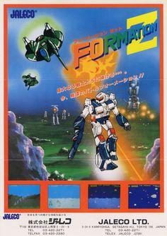 Formation Z (Jaleco Arcade 1984)