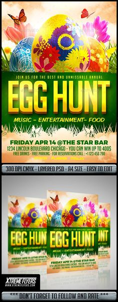 Cute Easter egg hunt invitation template that is available in a - microsoft word easter egg