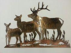 Three Elk by Blue Mt. Metal Works!