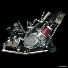 SCOTT 600cc two stroke, Gordon Calder