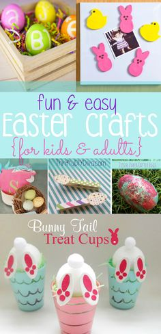 Easy Easter Crafts for Kids and Adults!