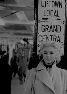 Marilyn Monroe photographed by Ed Feingersh, New York City, 1955.