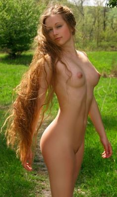 Nude Extremely Long Hair 76