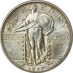 Standing Liberty Quarter - Controversial from the start the Standing Liberty Quarter has always been popular with coin collectors and that drives much of the value of these coins.