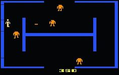 WEBSTA @favoritevideogamessince71 Berzerk Gameplay (1980 Arcade).https://youtu.be/DFSQ0Pl4KDk