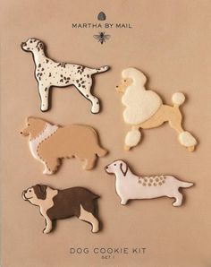dog shaped cookie cutters - Google Search
