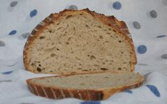 Chléb Kubík Russian Recipes, Sourdough Bread, Croissants, Bread Baking, Banana Bread, Rolls, Food And Drink, Healthy Recipes, Cooking