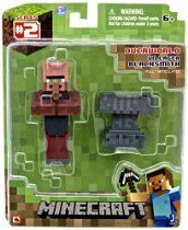Minecraft Series 2 Blacksmith Villager with Accessory Action Figure. The Blacksmith Villager pack will include a removable apron and an anvil accessory. Minecraft Party, Minecraft Gifts, Minecraft Video Games, Minecraft Toys, Minecraft Stuff, Mojang Minecraft, Minecraft Action Figures, Mega Pokemon, Shopping