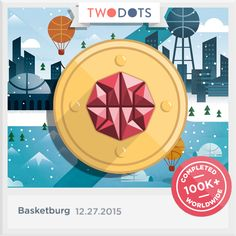I caught The Rock and hit nothing but net! Join me now - playtwo.do/ts #TwoDots