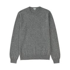 Cashmere Crew Neck Grey - Uniqlo