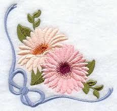 Resultado de imagen para daisy embroidery