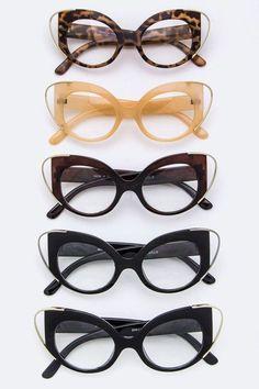 df0bcd46ed0 Cat Eye Optical Glasses - UV 400 Protection - Lead   Nickel Compliant Cat  Eye Sunglasses