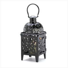 fairy lights candle holder