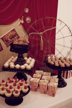 vintage circus wedding | Found on catchmyparty.com