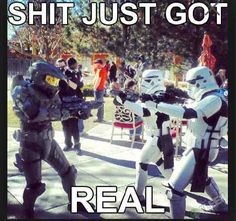Halo and Star Wars
