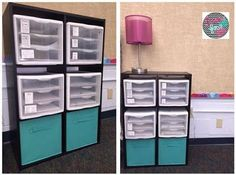 Idea for organizing a writing station