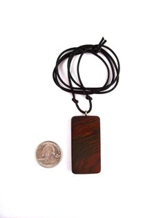 Wood jewelry wooden pendant necklace rectangular pendant wood rectangular pendant wooden jewelry wood pendant by gatewayalpha 1495 aloadofball Images