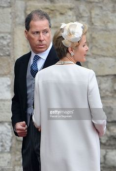 Viscount David Linley and Viscountess Serena Linley arrive to attend... News Photo | Getty Images