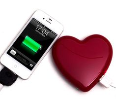 【HEART CHARGER】 Mobile Battery