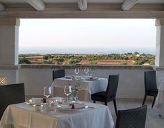 La Terrazza sul Borgo - sede estiva della Torre del Borgo - Borgobianco Resort & Spa - Polignano a Mare - Bari - Puglia - Italy - www.borgobianco.it