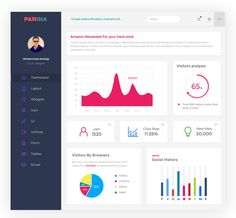 <p>Download Multipurpose User Dashboard UI Free PSD. is a multipurpose dashboard ui psd made using material design colors. This freebie contains quite a lot of ui elements, such as graphs, menues, a mail, etc. Each elements is well layered and named making it easier to edit. The icons used are from font awesome. Feel free to use it in you upcoming Dashboard UI design projects. Hope you like this Multipurpose User Dashboard UI Free PSD. Enjoy!</p>