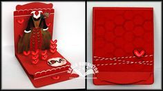 Video Tutorial for adding a Floating Floor to the Stampin' Up! exclusive Pop 'n Cuts Dress Form die. Queen of Hearts Card