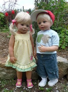 """Old Lee Middleton Dolls 
