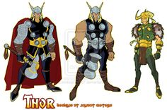 Thor Animated by Jonboy007007.deviantart.com on @deviantART