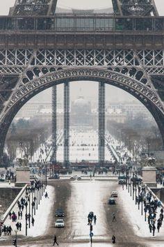 Winter in #Paris