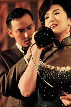 "The most gorgeous cheongsam.  Wong Kar Wai's ""Eros""."