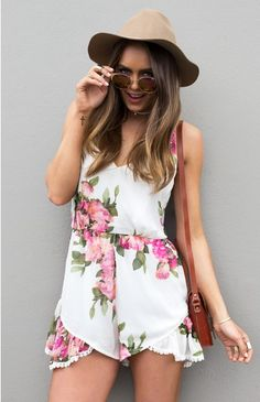 Sweet Life Playsuit | Beginning Boutique  http://beginningboutique.com.au/sweet-life-playsuit