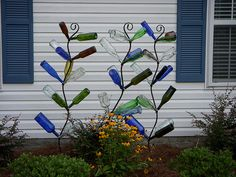Cute and artistic and needs no watering, but I might have a problem with the Homeowner's Association!