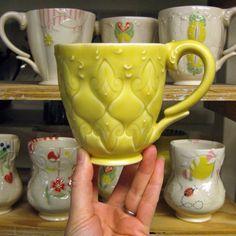 Kristen Kieffer new glaze color, Buttercup Yellow