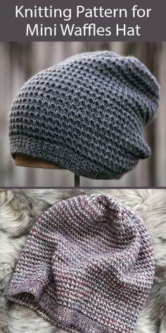 Easy Knitting, Loom Knitting, Knitting Stitches, Knitting Socks, Knitted Hats, Knitting Machine, Slouchy Beanie Knitting Pattern, Knit Beanie, Slouchy Beanie Hats